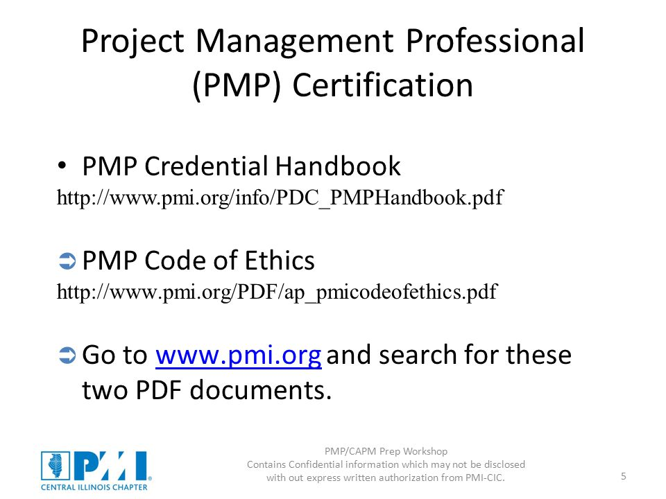 PMP/CAPM Prep Workshop Intro and Scope - ppt download