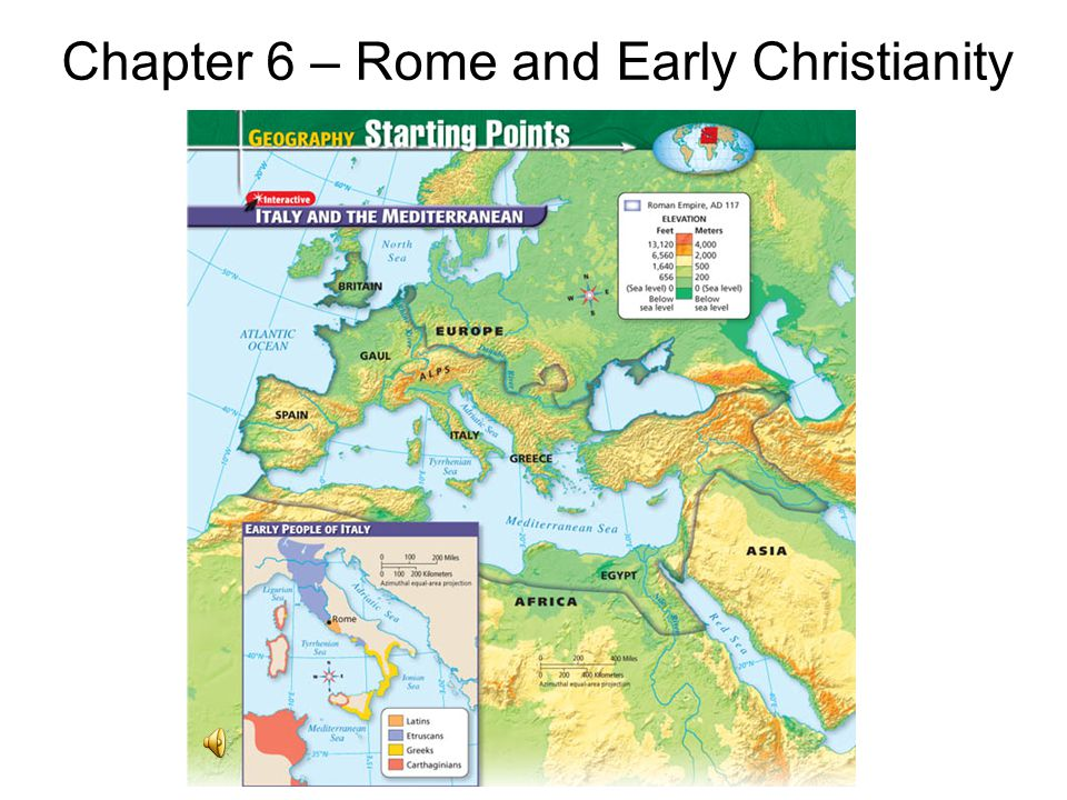 Chapter 6 rome and early christianity ppt video online download chapter 6 rome and early christianity gumiabroncs Images