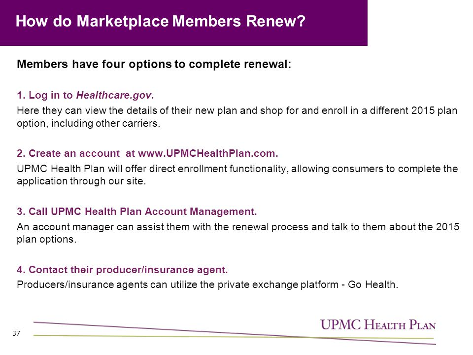 UPMC Advantage Individual & Family Plans for ppt download