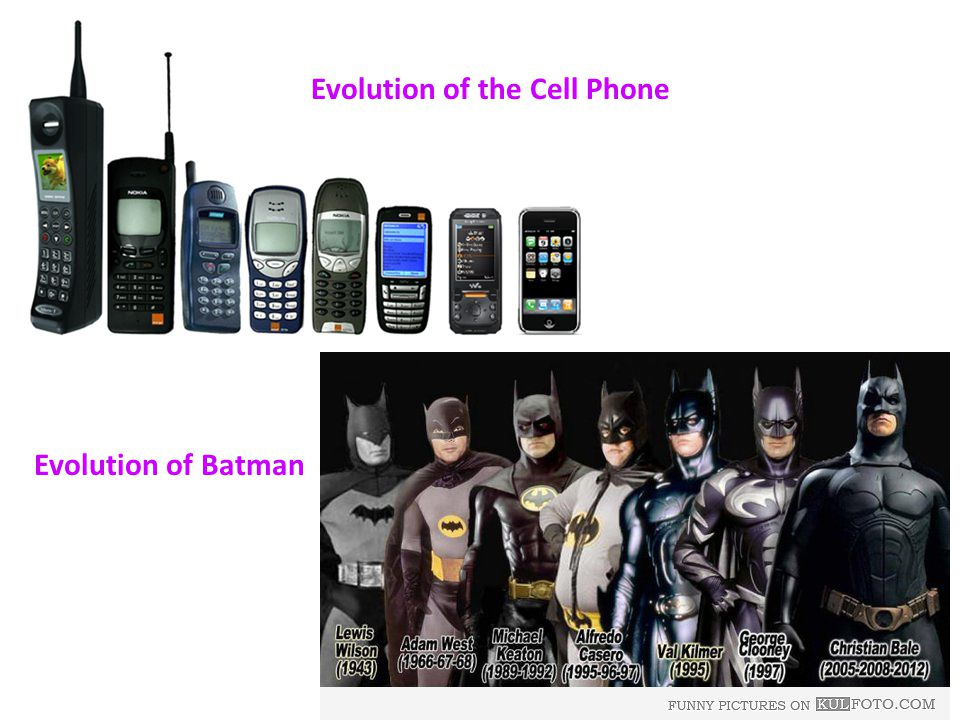 Evolution Of Cell Phones THE EVOLUTION OF CELLULAR PHONE