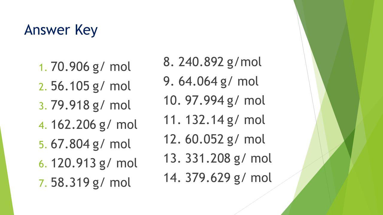 Mole Conversions Molar Mass Percent Composition Ppt Download