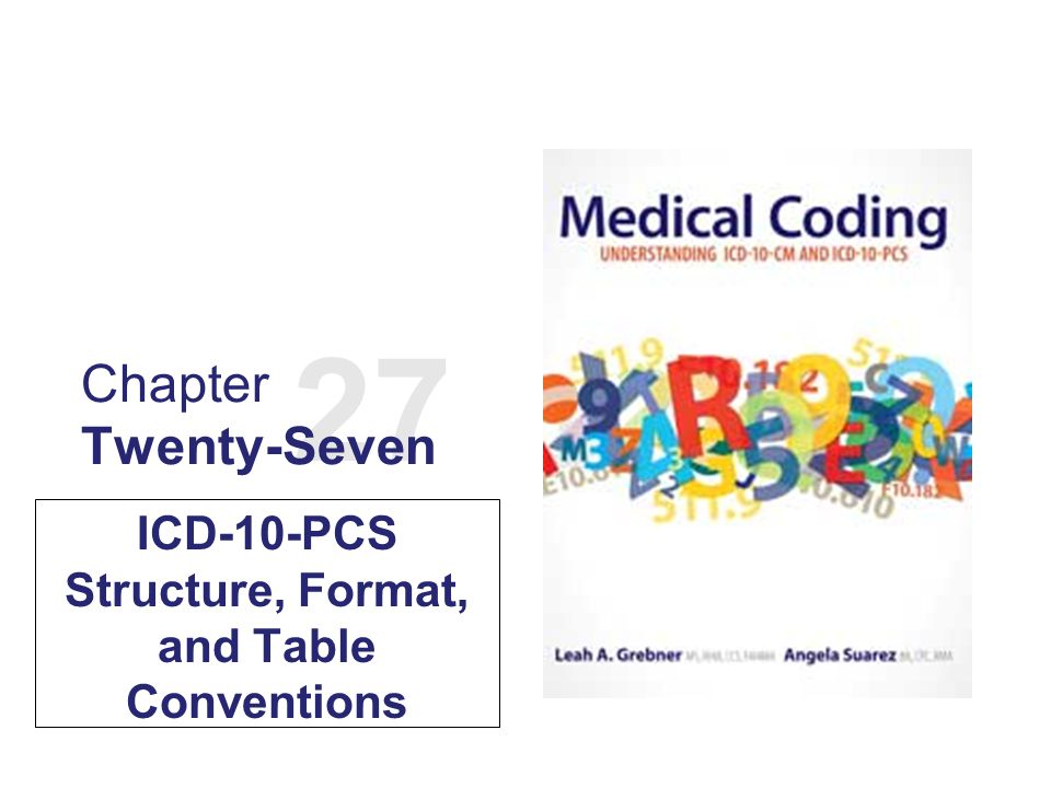 ICD 10 PCS Structure Format And Table Conventions Ppt