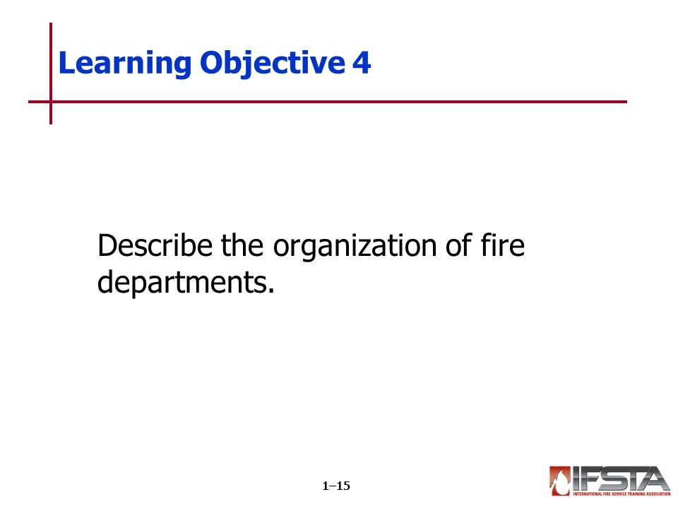 Department organization is based on a system of rank tied to specific duties.
