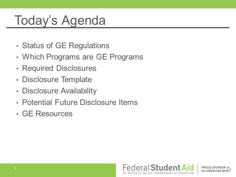 Gainful Employment Disclosures Ppt Download