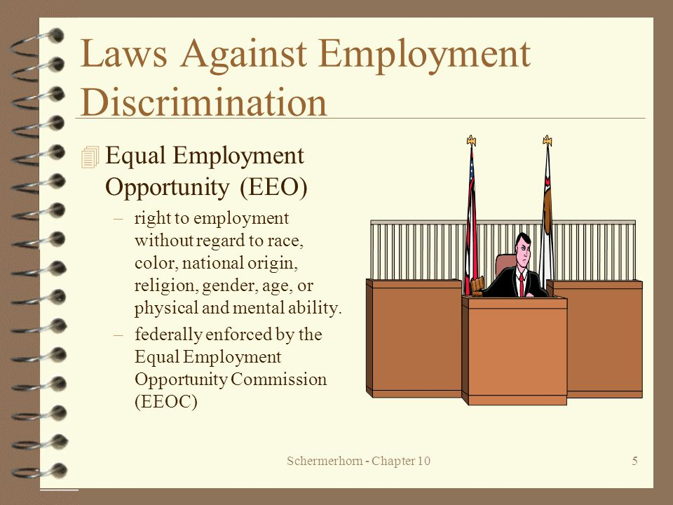 Laws Against Employment Discrimination