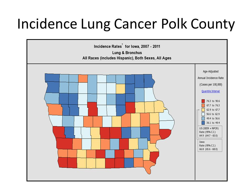 Incidence Lung Cancer Polk County