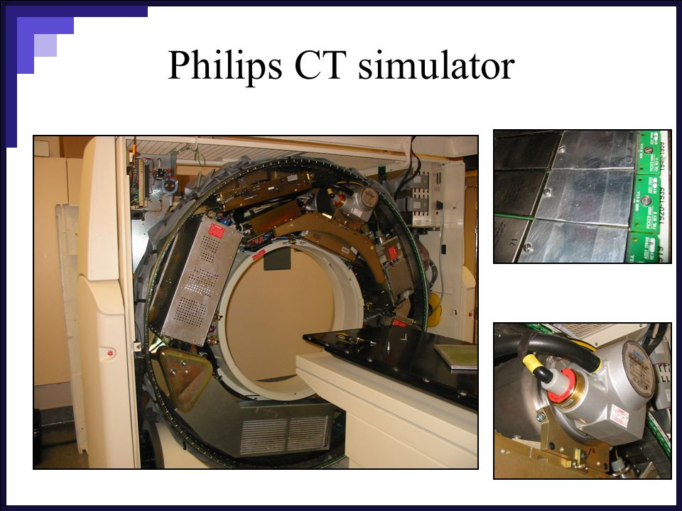 Philips CT simulator