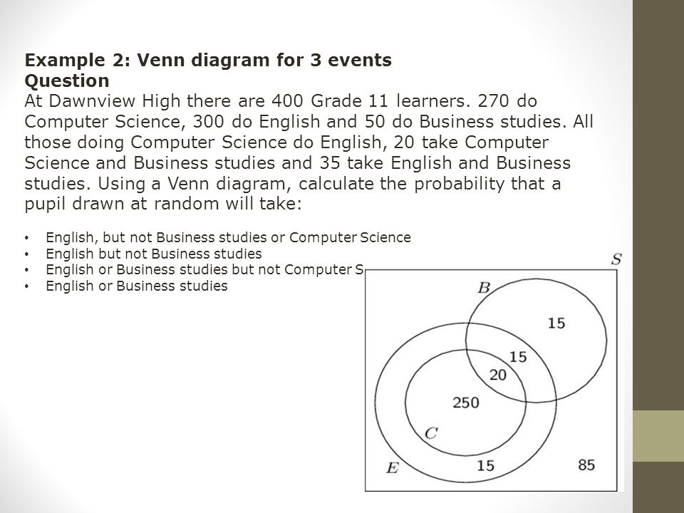 Warm up distance learning ppt video online download 16 example 2 venn diagram ccuart Images