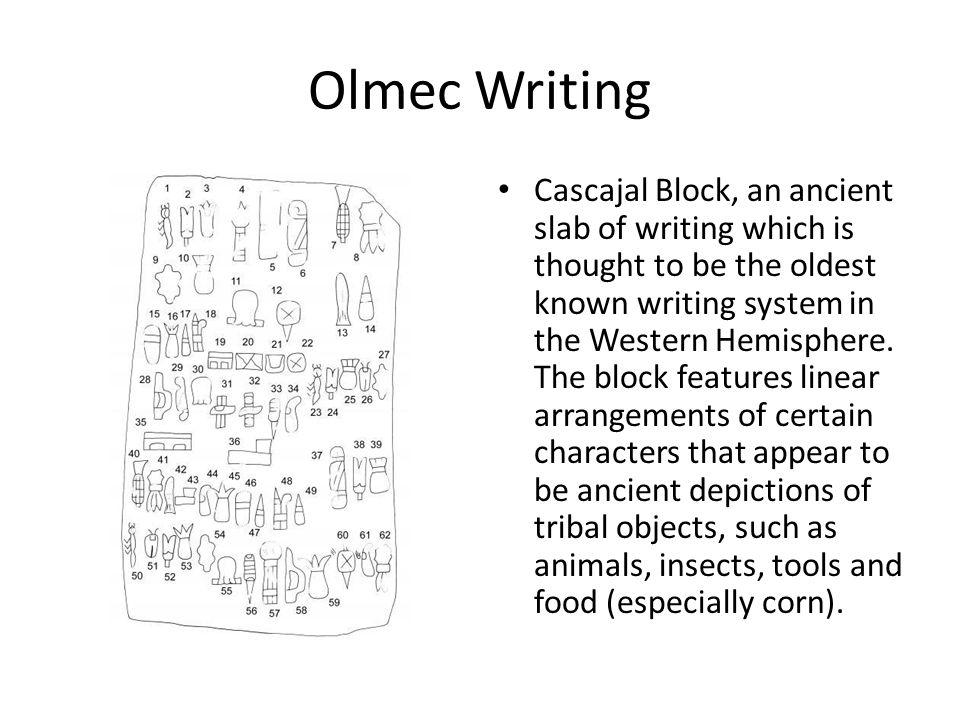 olmec number system