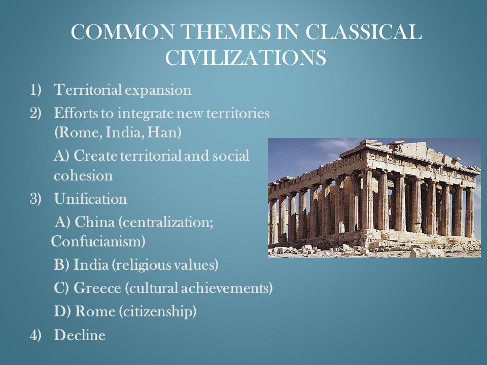 the two classical civilizations of ancient india were the
