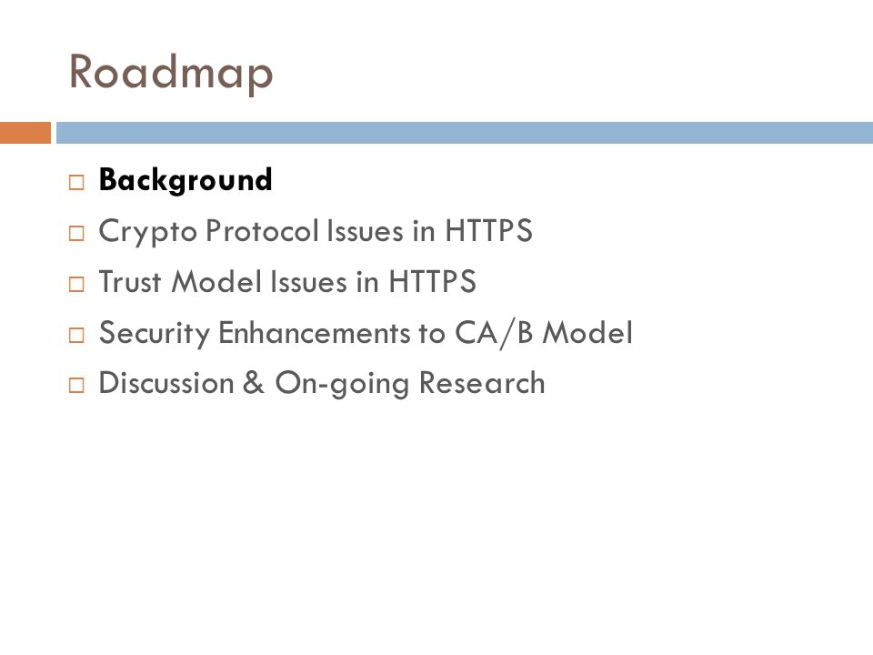 Sok Ssl And Https Revisiting Past Challenges And Evaluating