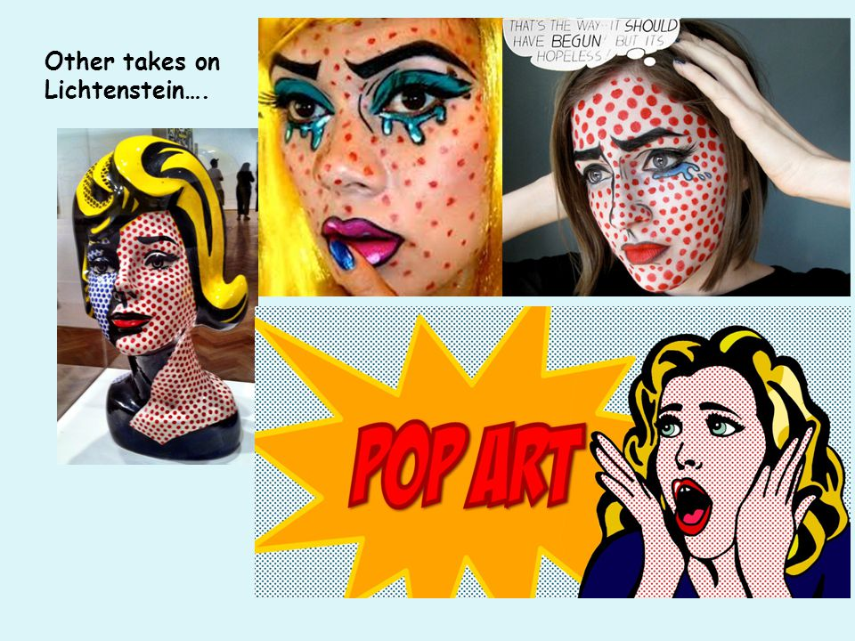 Other takes on Lichtenstein….