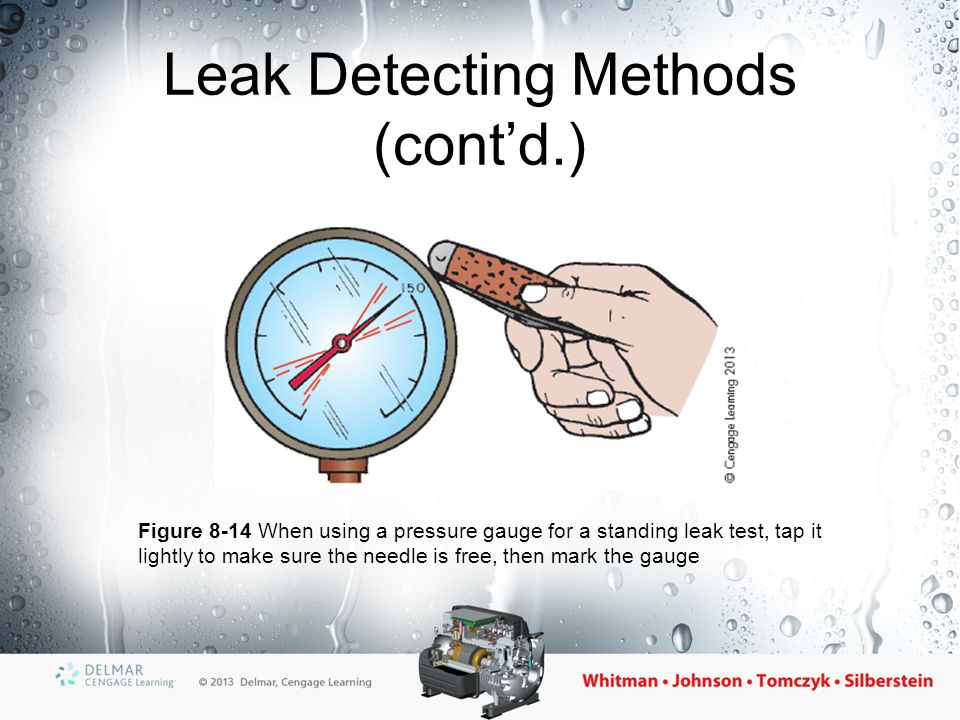 Leak Detecting Methods (cont'd.)