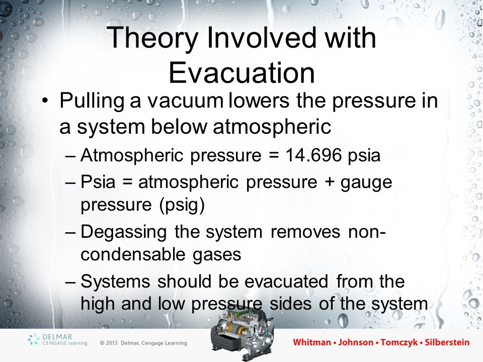 Theory Involved with Evacuation