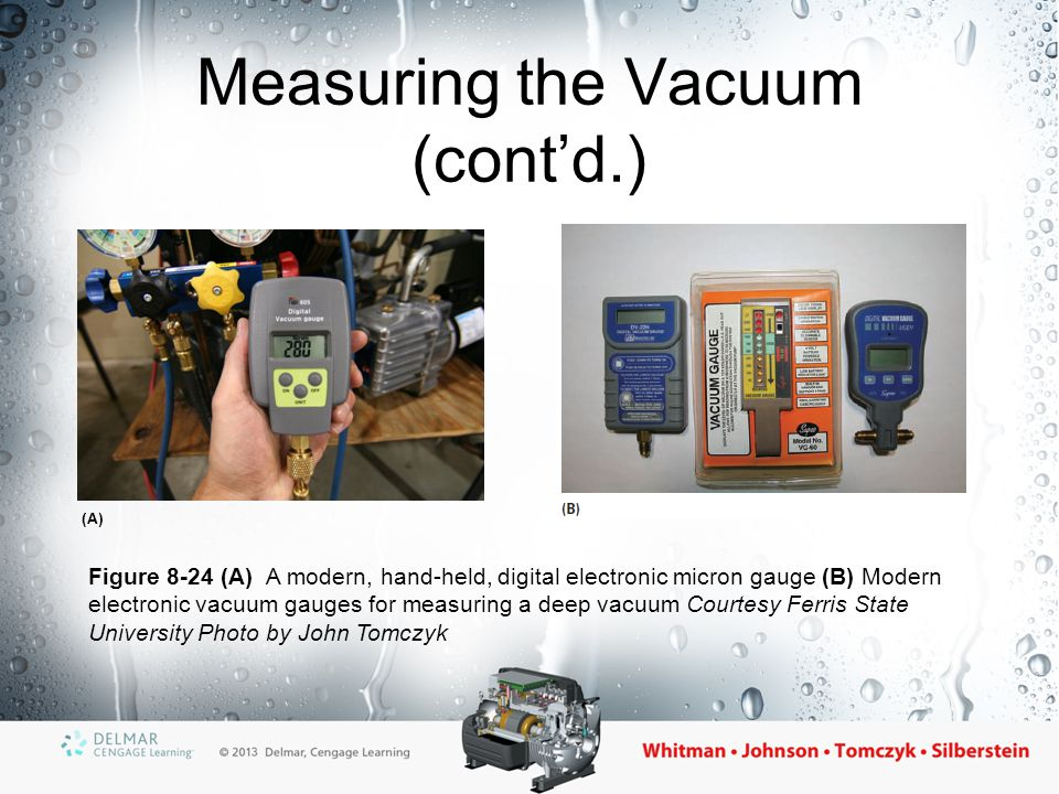 Measuring the Vacuum (cont'd.)