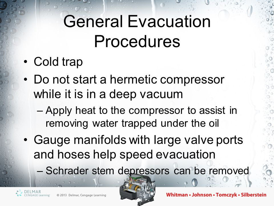 General Evacuation Procedures