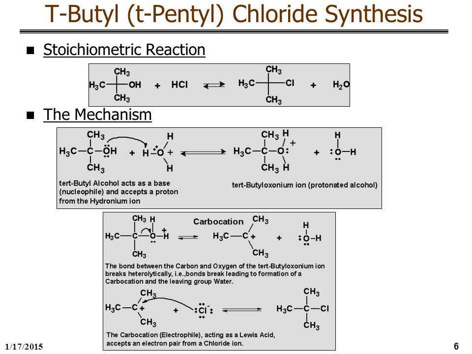 preparation of t butyl chloride