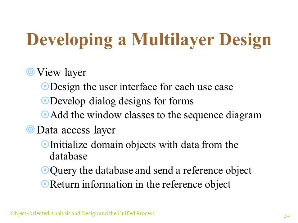 Developing a Multilayer Design