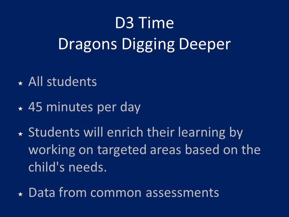 D3 Time Dragons Digging Deeper