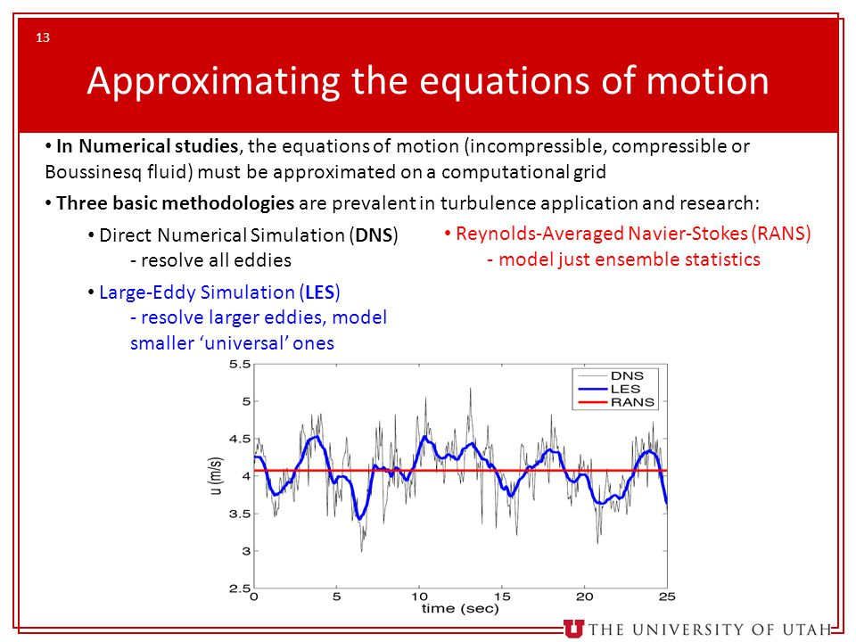 Approximating the equations of motion