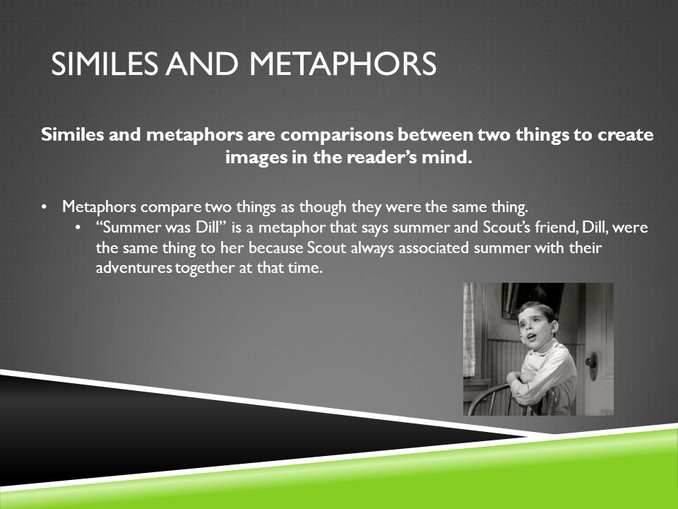Similes And Metaphors Chapters Ppt Video Online Download
