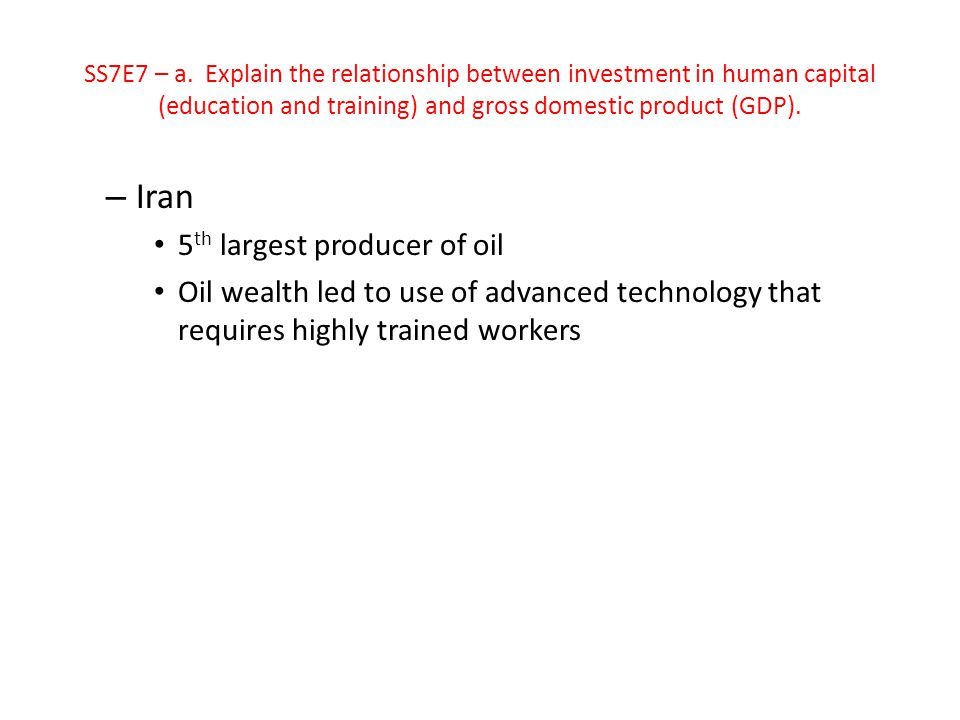 Iran 5th largest producer of oil
