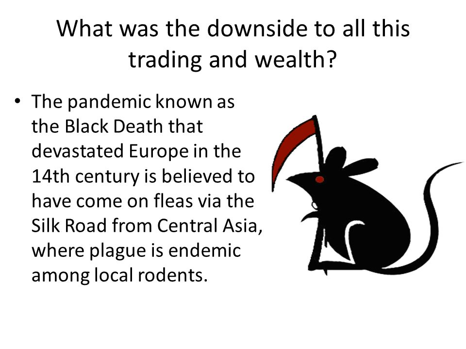 What was the downside to all this trading and wealth