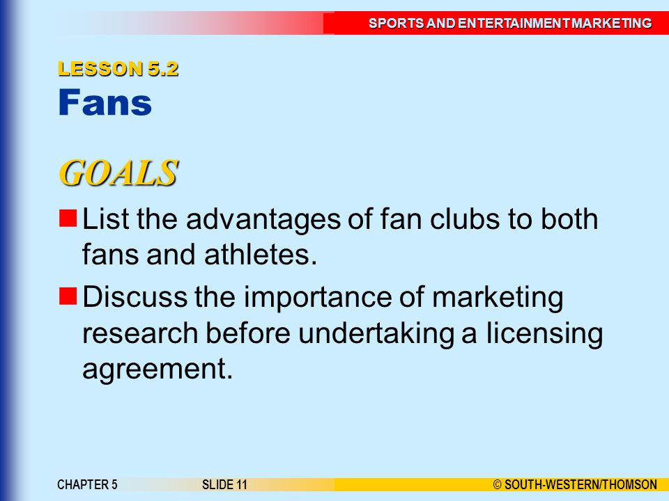 Sports And Entertainment Marketing Ppt Download