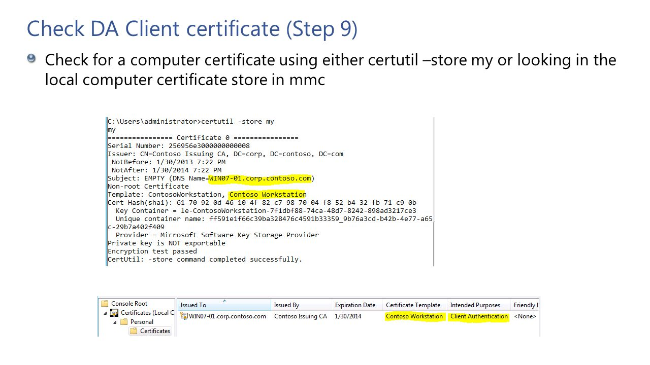 Troubleshooting Directaccess Clients Step By Step Ppt Video Online
