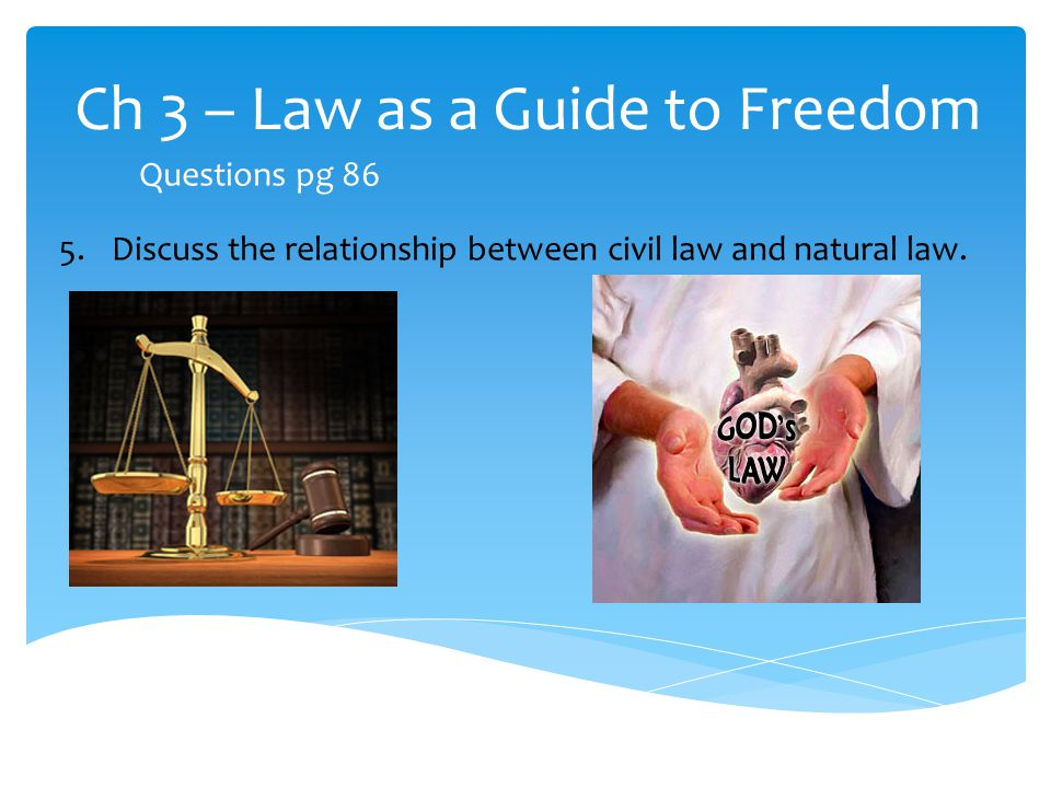 relationship between law and freedom