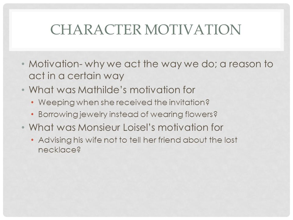 Literary Elements The Necklace Ppt Video Online Download