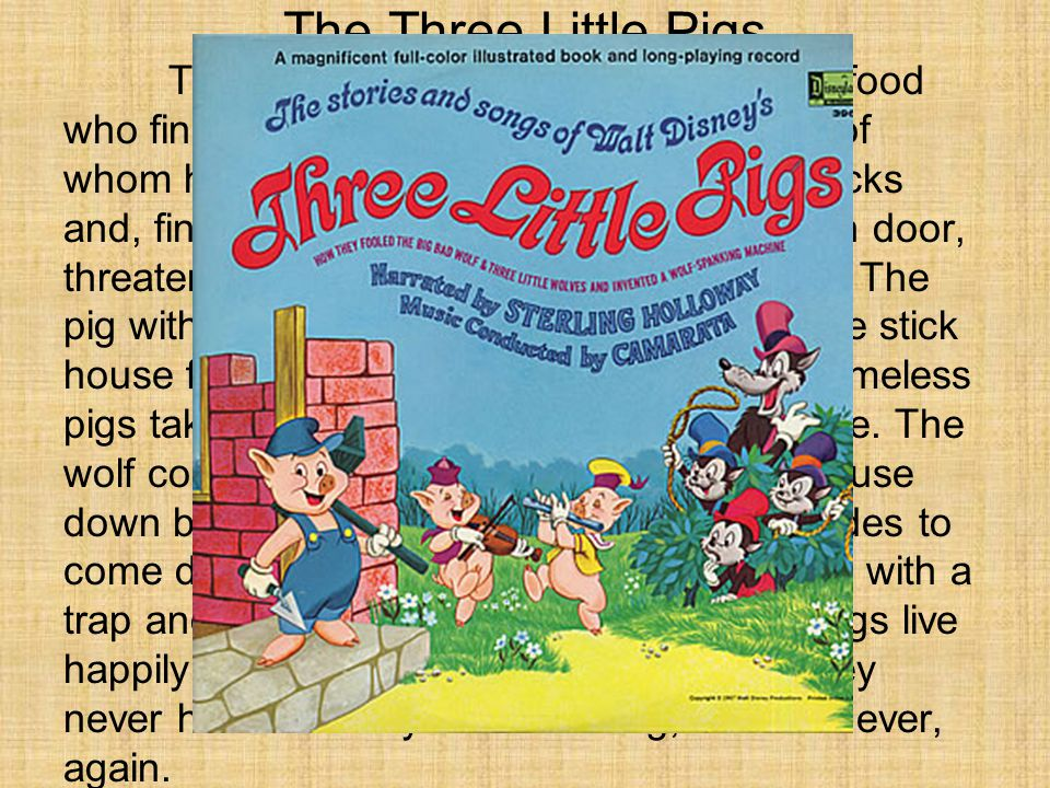 Plot Structure Diagram Three Little Pigs.The Three Little Pigs There Was A Big Bad Wolf Looking For