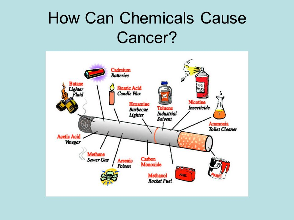How Can Chemicals Cause Cancer