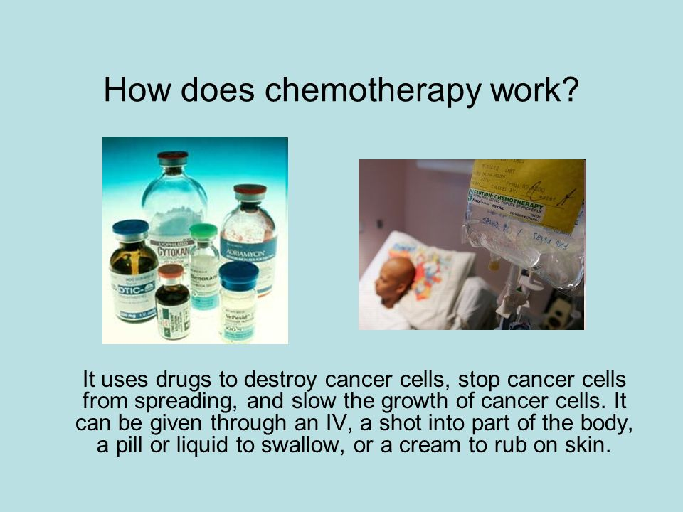 How does chemotherapy work