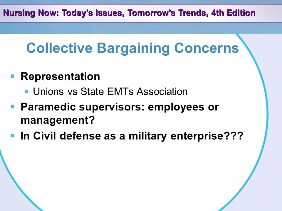 Collective Bargaining Concerns