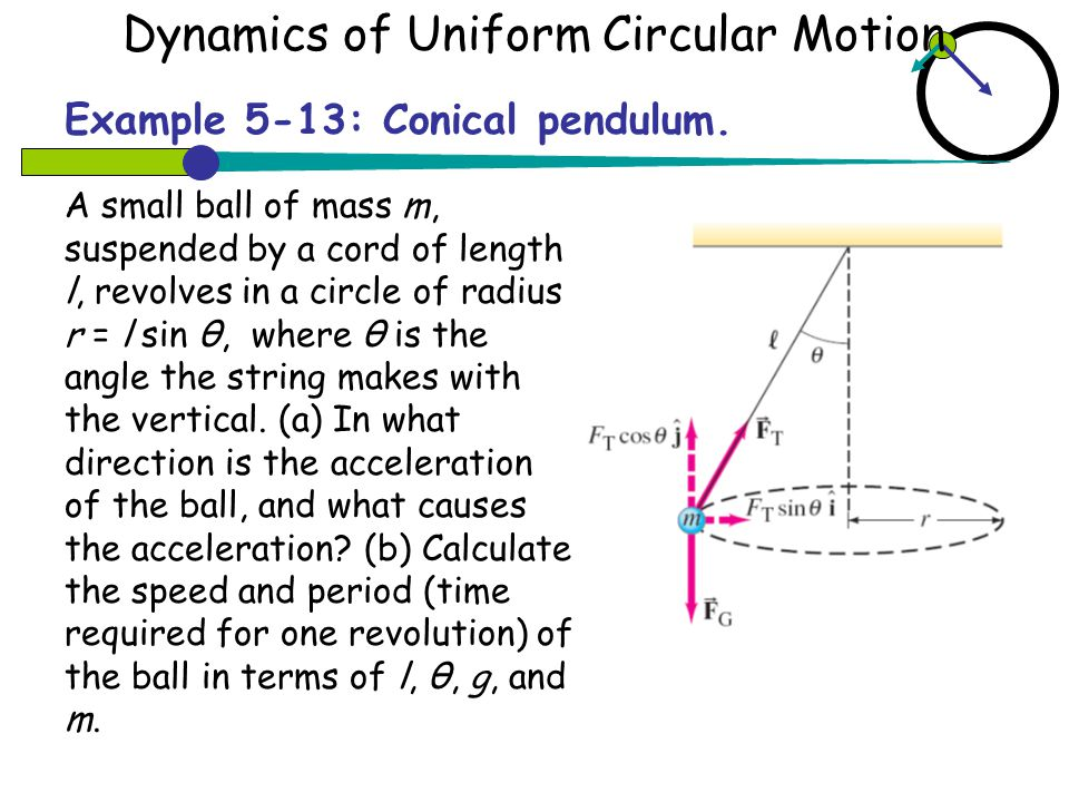 5.2 Uniform Circular motion 5.3 Dynamic of Uniform Circular ...