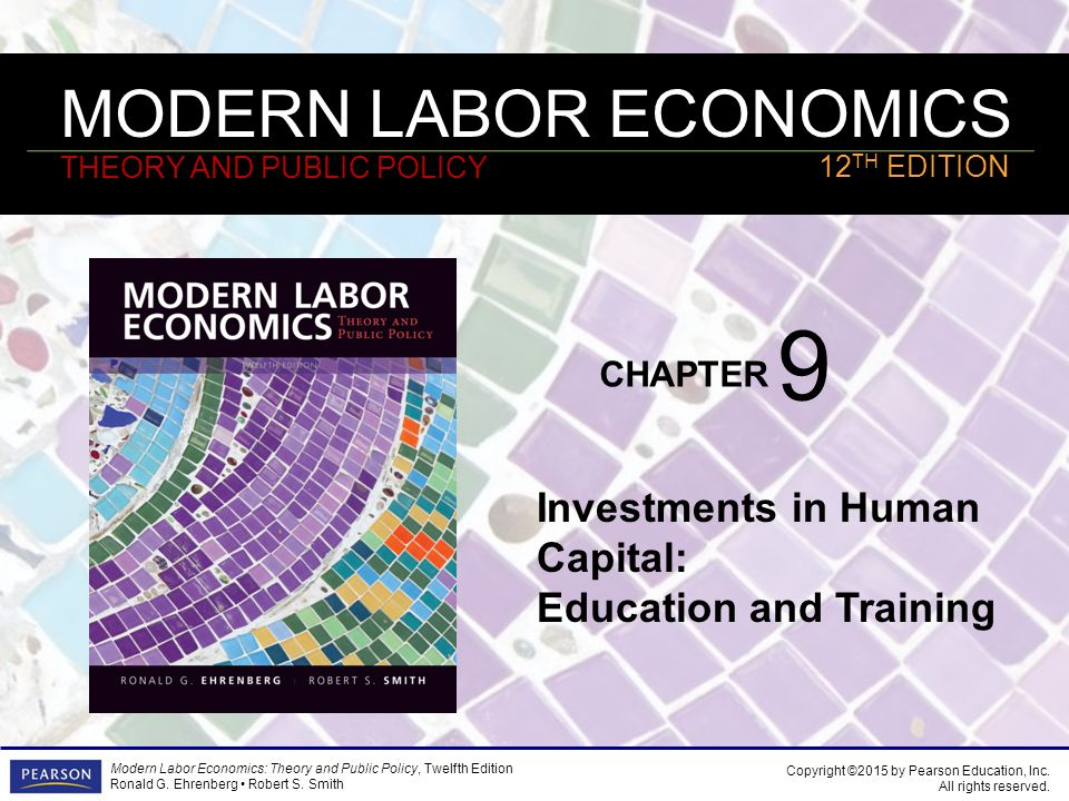 Chapter 9 investments in human capital education and training aqar real estate investment