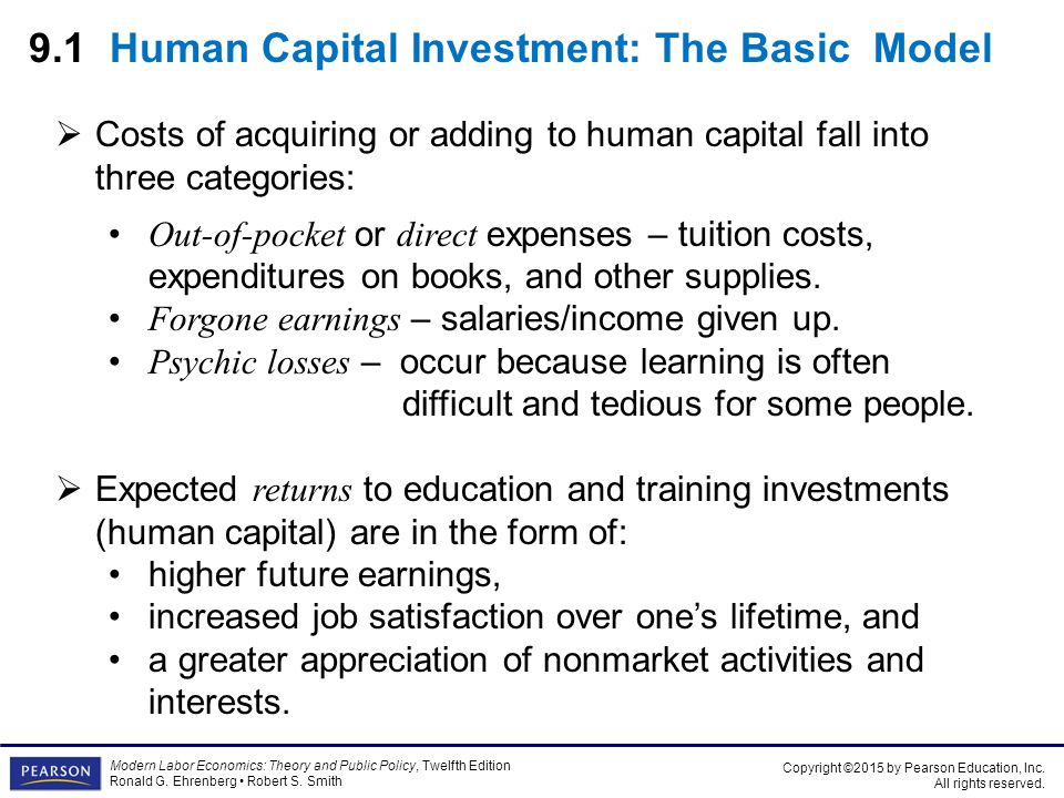 Chapter 9 investments in human capital education and training atig forex yorumlar