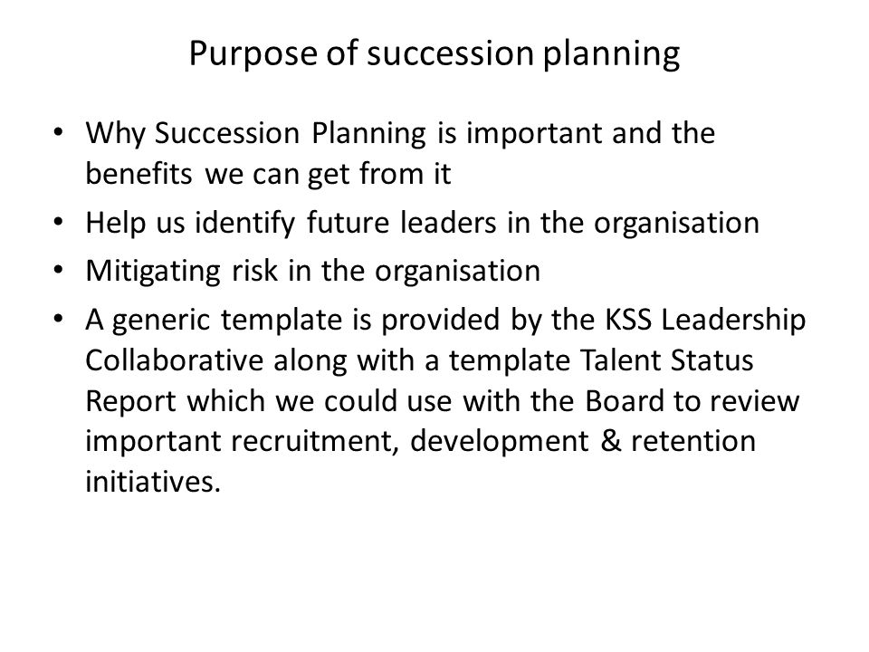 Talent Management Executive Summary Ppt Download - Board succession planning template