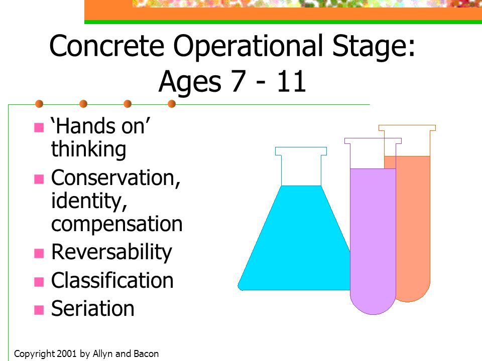 Concrete Operational Stage: Ages