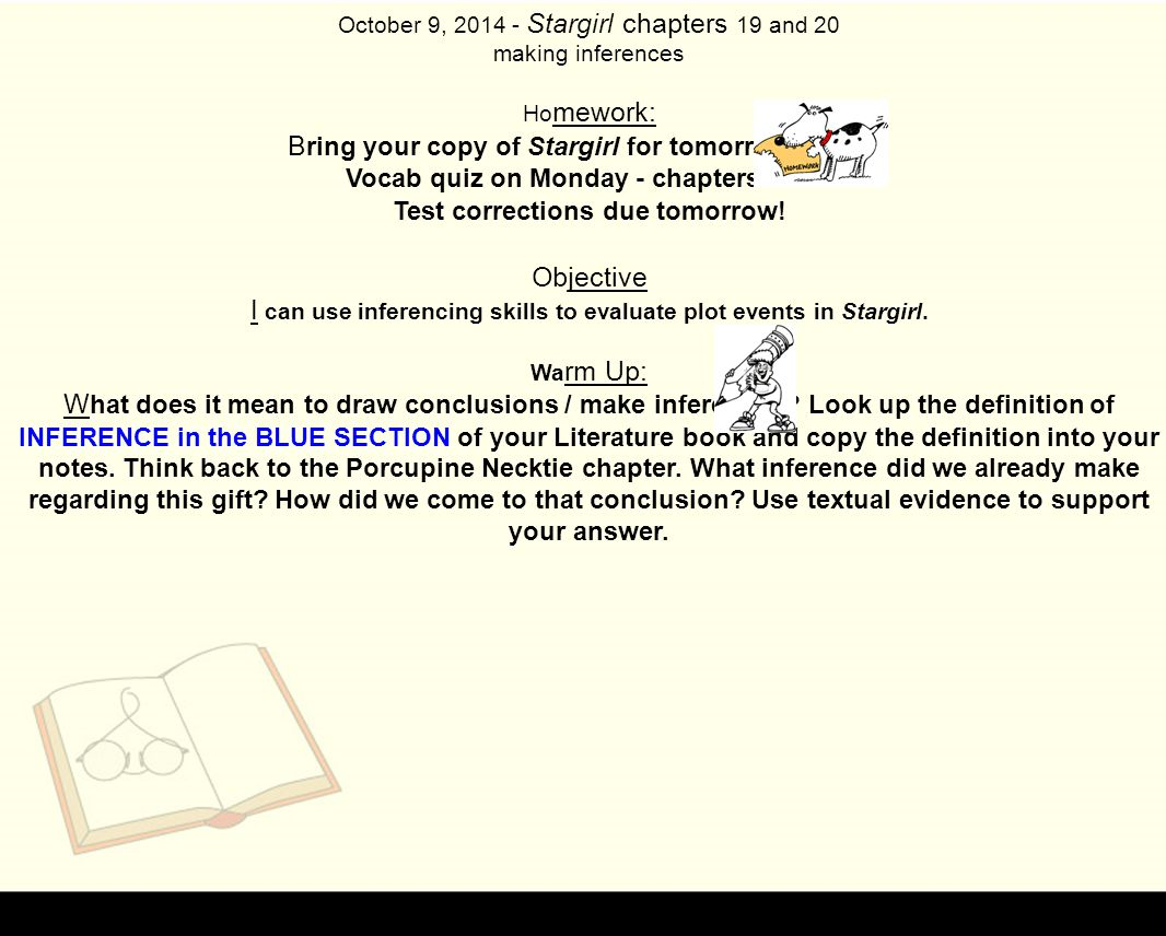 426c8312ed100b Vocab quiz on Monday - chapters ppt download