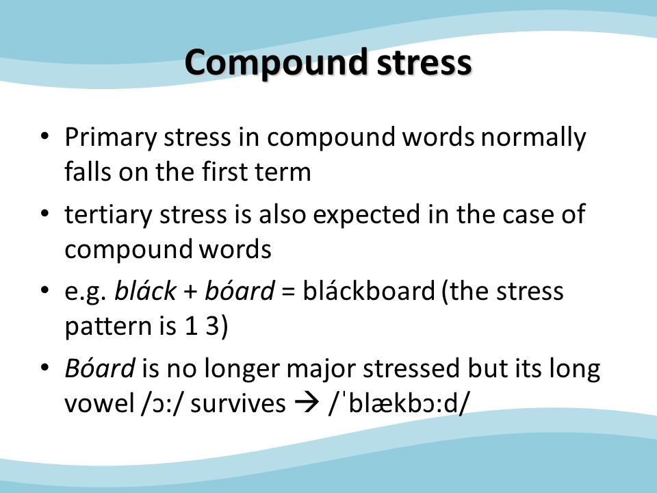 Word structure and stress - ppt video online download