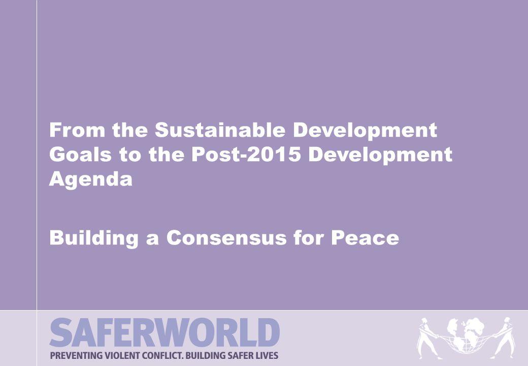 Saferworld Presentation Title Ppt Download