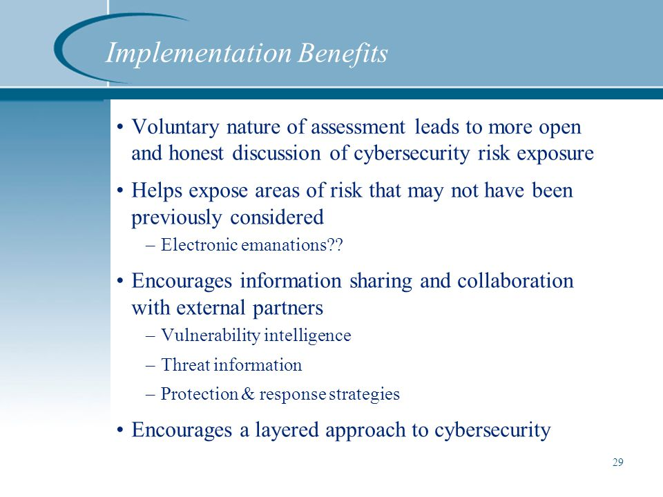 Cybersecurity Framework October 7 Ppt Video Online Download