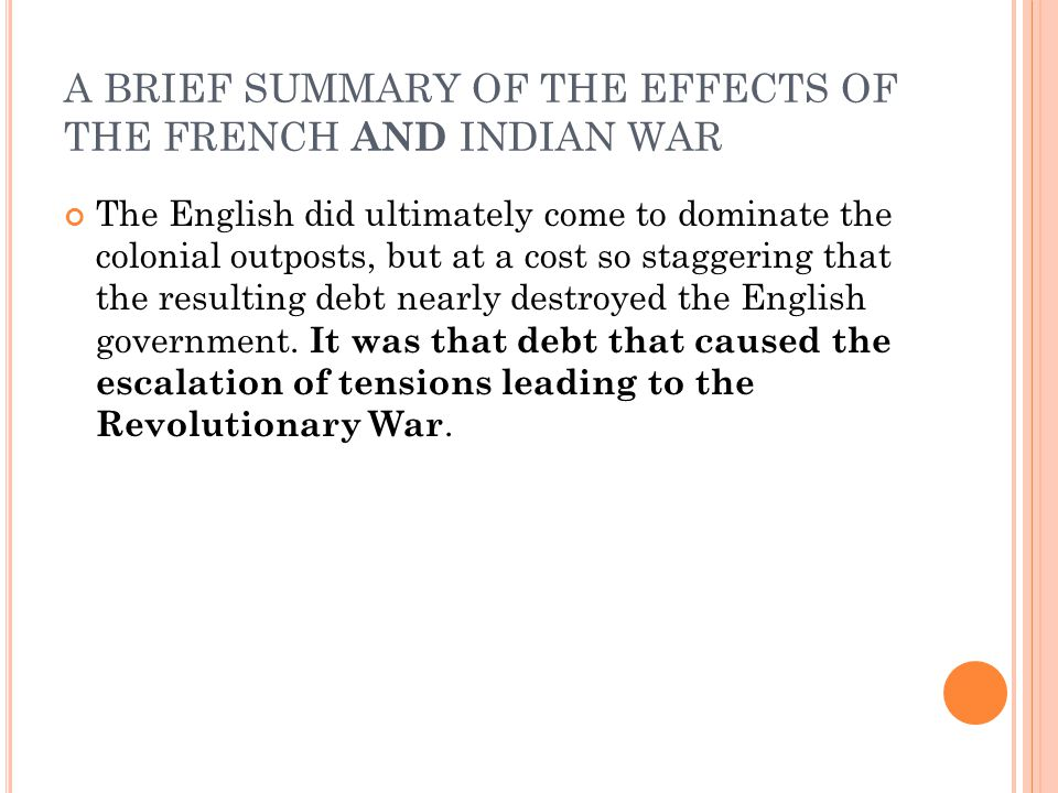 Lesson 6 1 Causes And Effects Of The French And Indian War Ppt