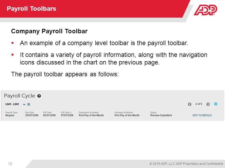 Payroll Part 1 For Adp Workforce Now Ppt Download