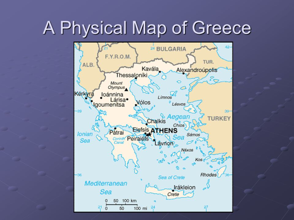 The Geography of Greece - ppt video online download