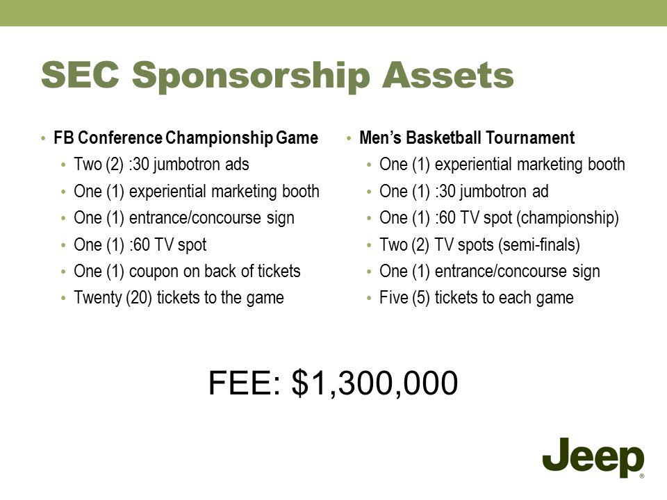 sec sponsorship assets