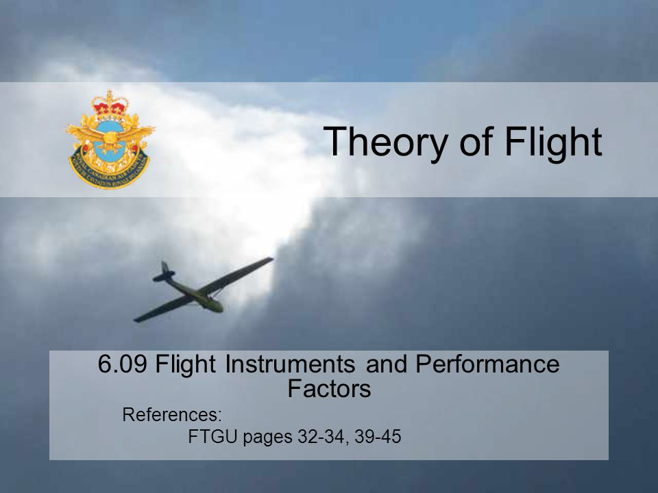 6.09 Flight Instruments and Performance Factors