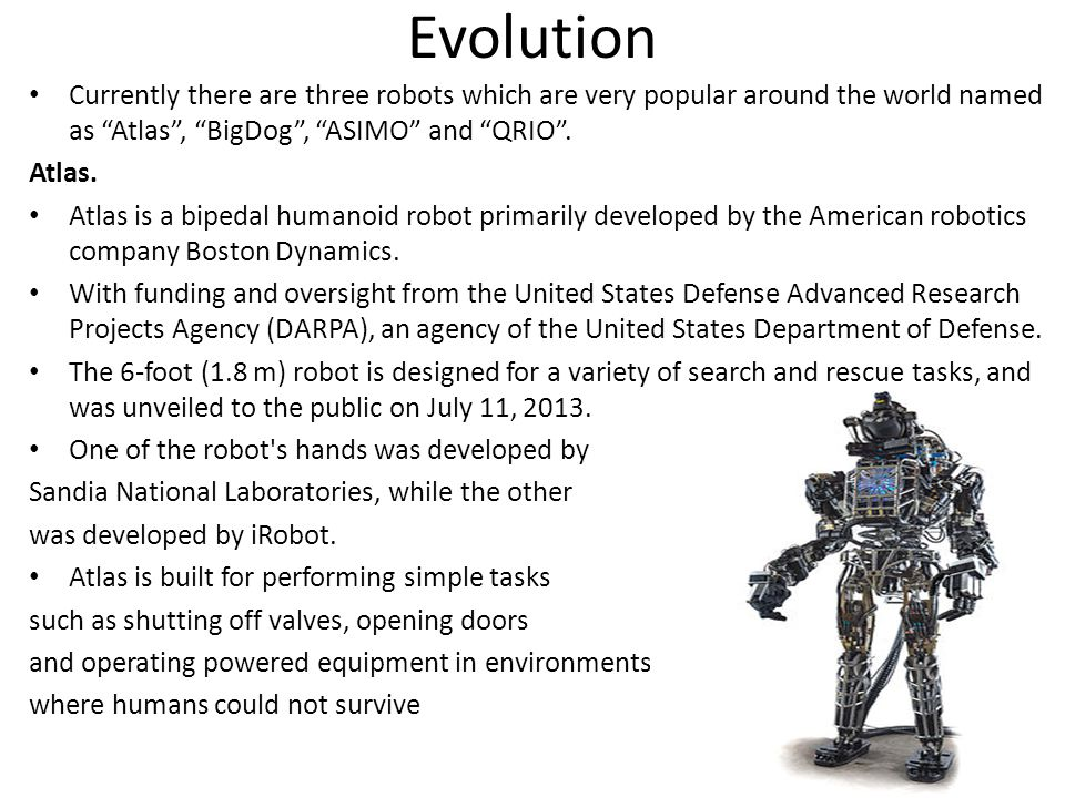 pros and cons of robots